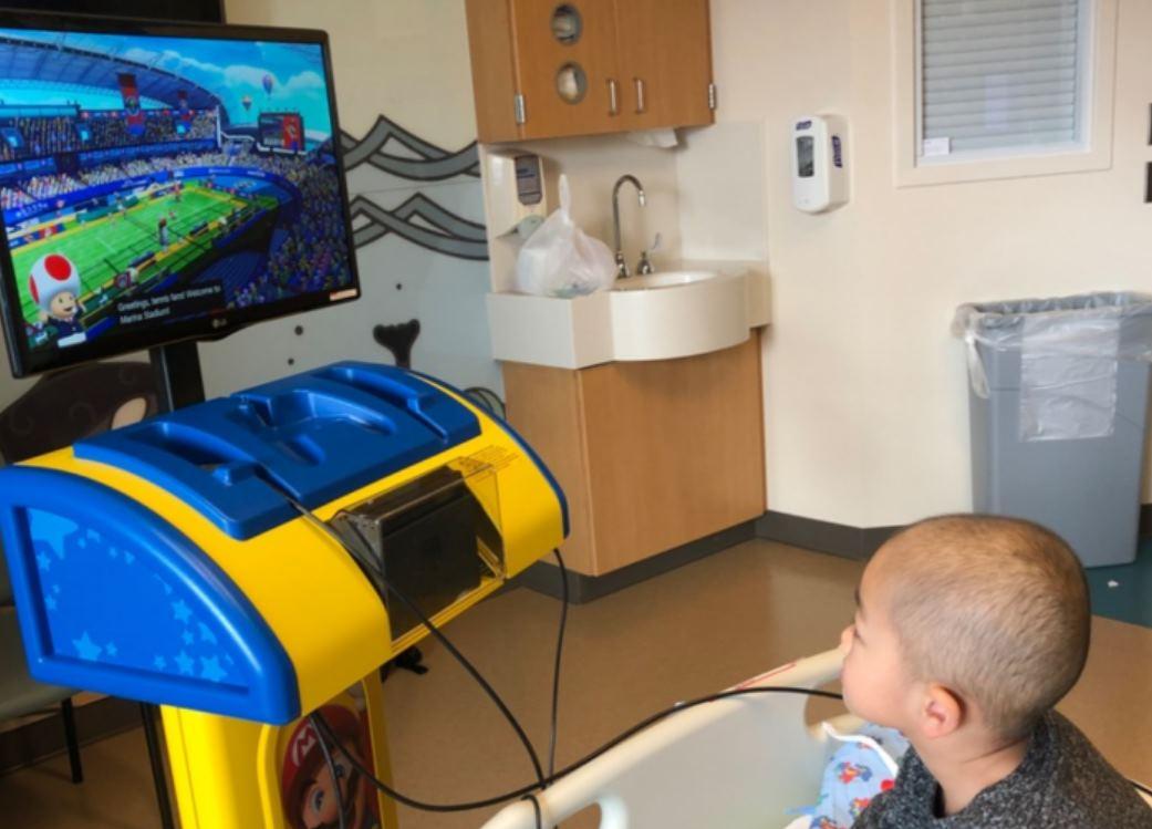 Nintendo instalará más consolas diseñadas para hospitales