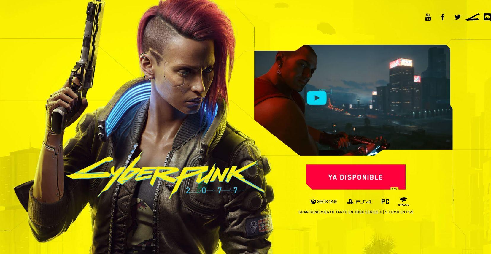 Si no te ha gustado Cyberpunk 2077, te pueden devolver el dinero