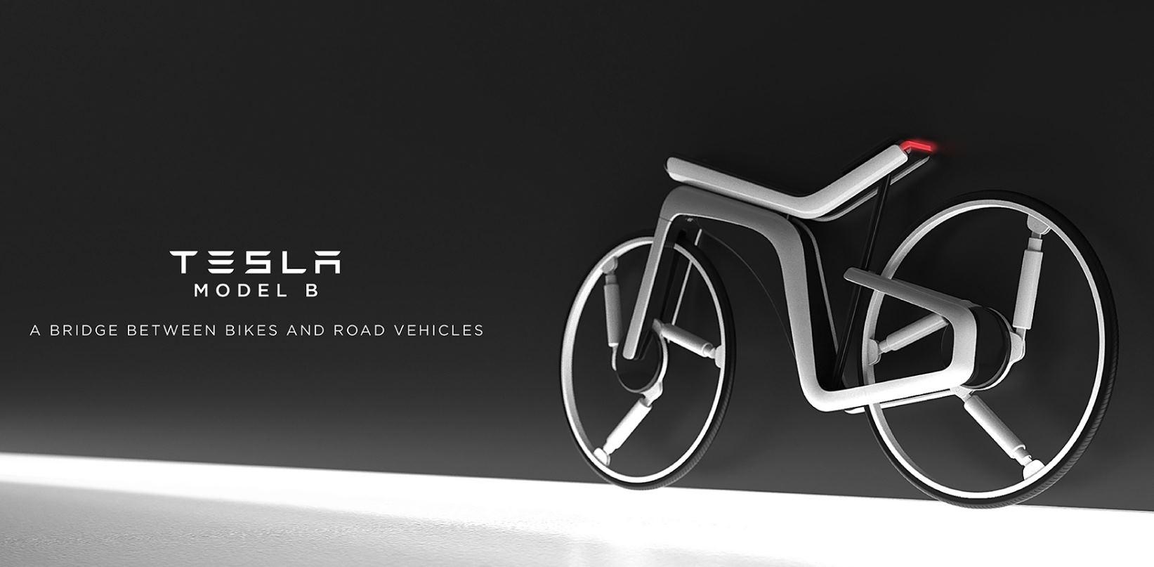 Una bicicleta eléctrica con diseño inspirado en Tesla