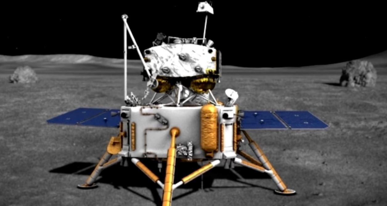 China aterriza en la Luna con su nueva nave espacial, y traerá muestras de vuelta