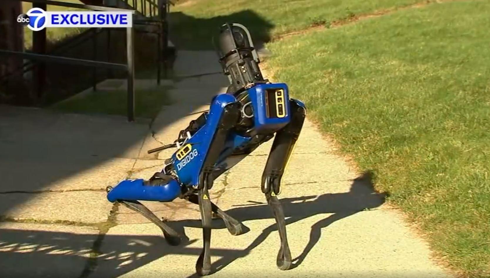 Digidog, el perro robot de la policía de New York