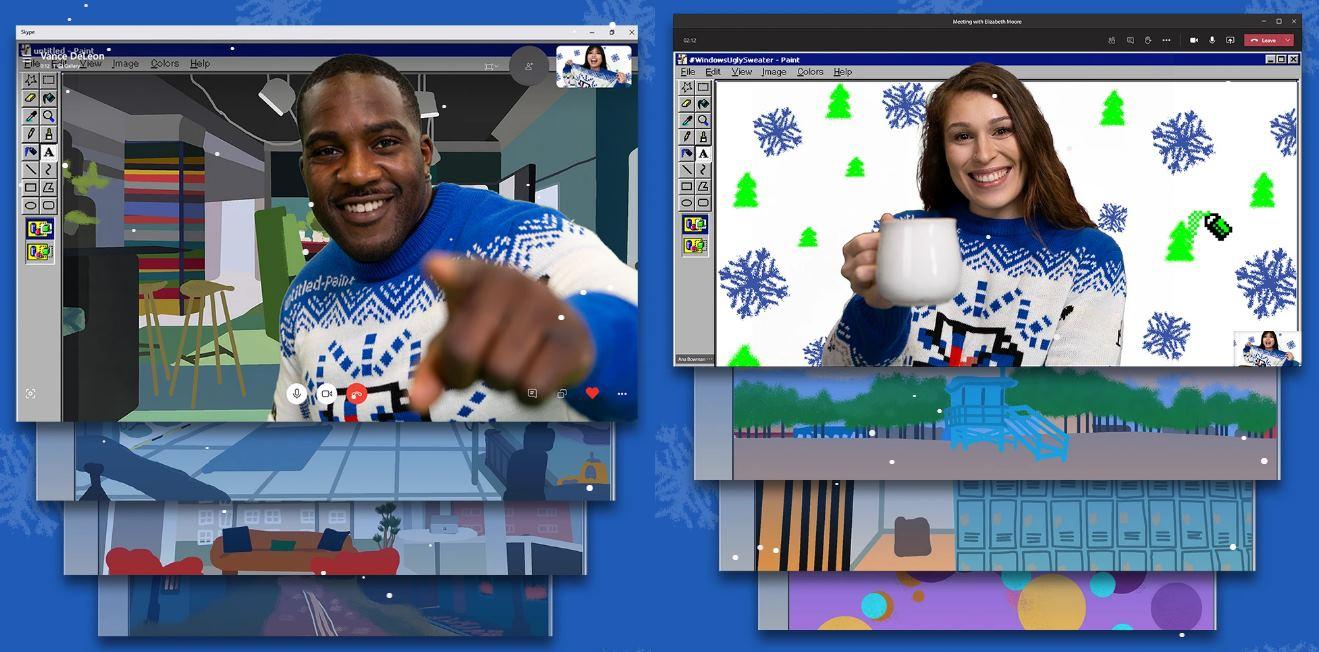 Microsoft Teams ahora con fondos y jerséis navideños