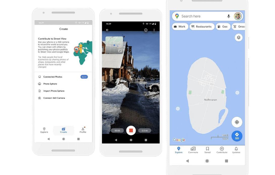 Ya podemos contribuir con Google Street View usando nuestro coche