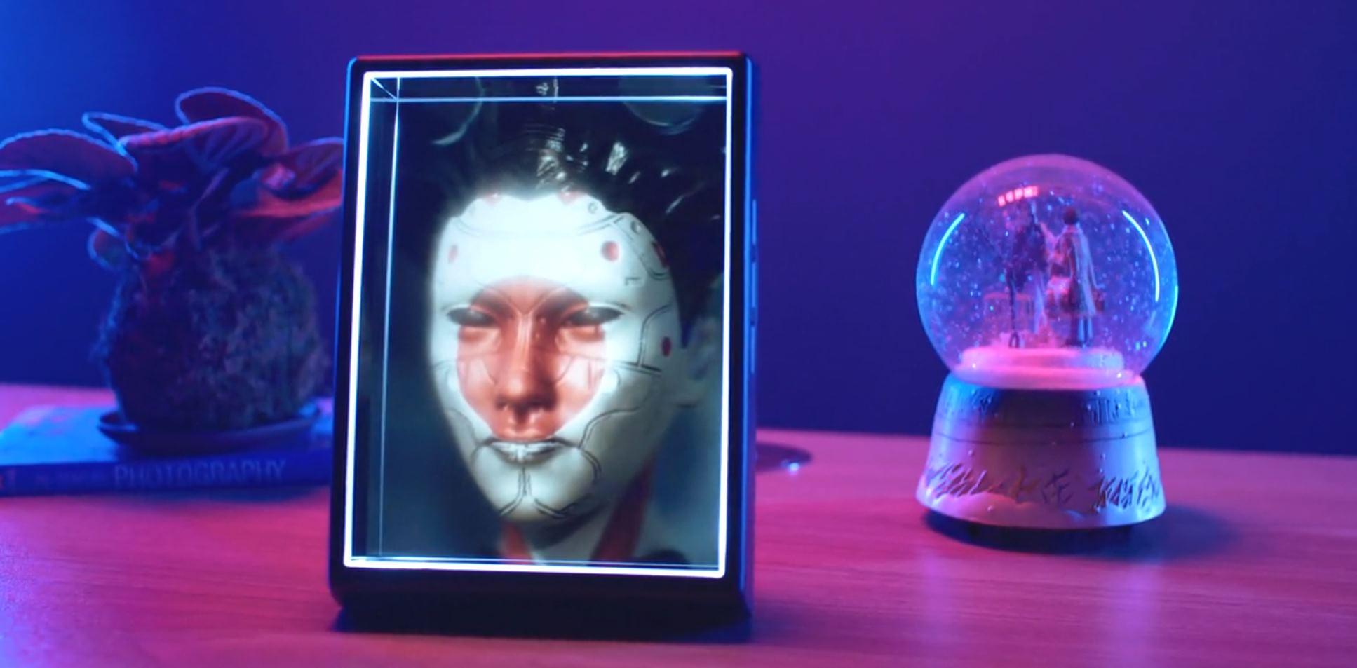 Looking Glass Portrait, para hacer vídeos en forma de hologramas