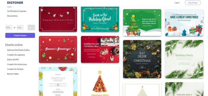 postal navidad gratis