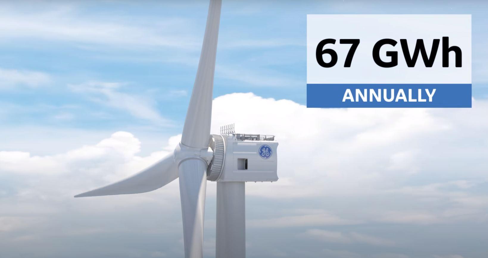 Turbinas eólicas que alimentan una casa durante dos días con un solo giro