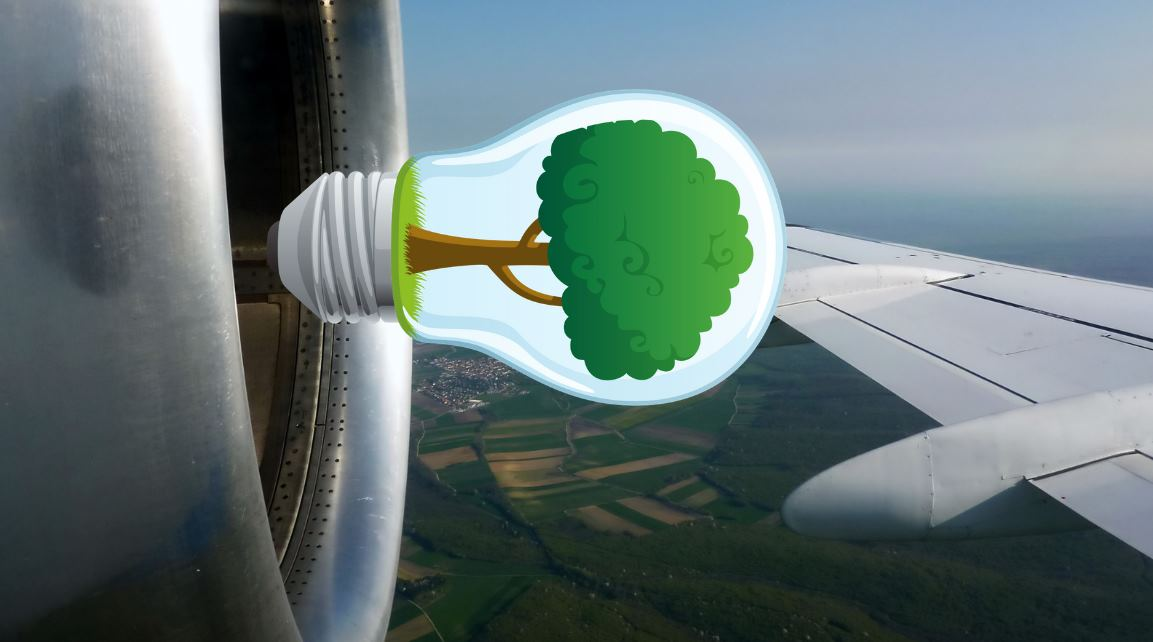 Científicos convierten el CO2 en combustible para aviones
