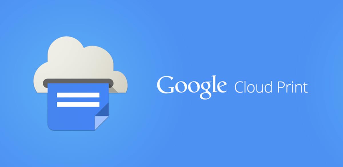 Google Cloud Print se une a los servicios de Google que cerraron en este 2020