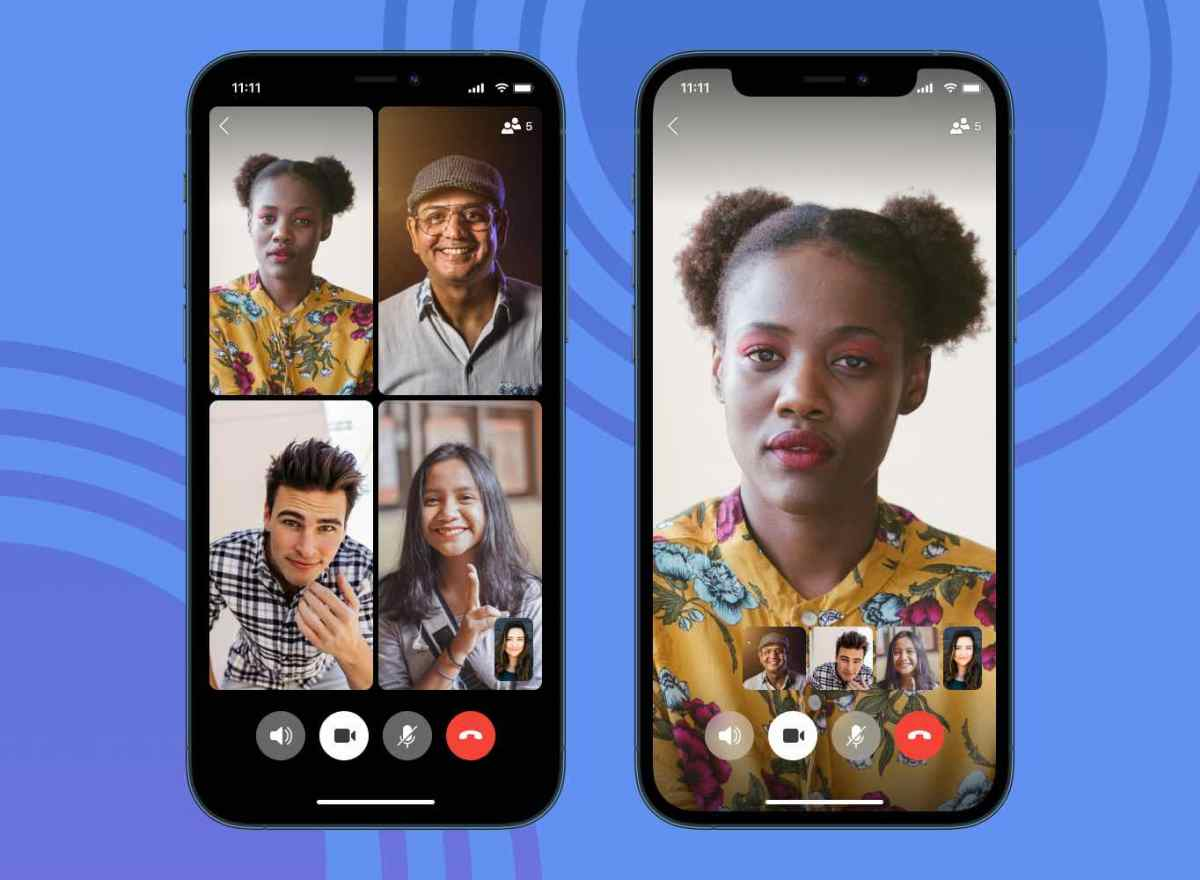 Videollamadas grupales en Signal