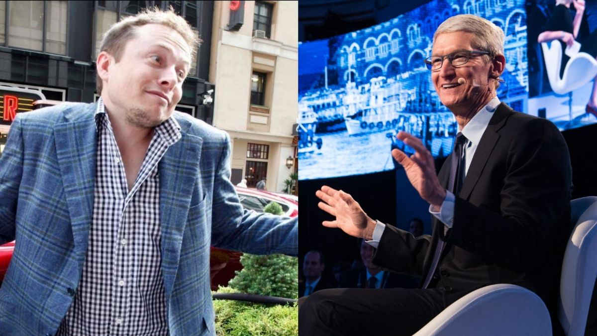 Elon Musk reveló que quiso vender Tesla a Apple y Tim Cook no se interesó