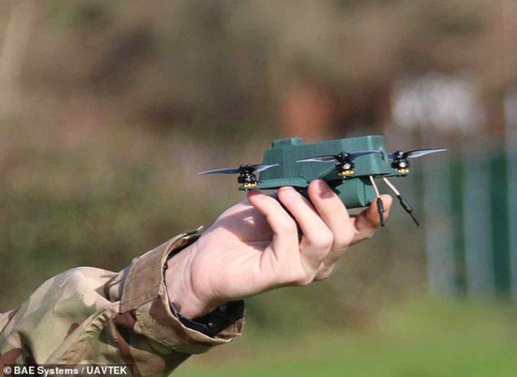 dron del ejército británico