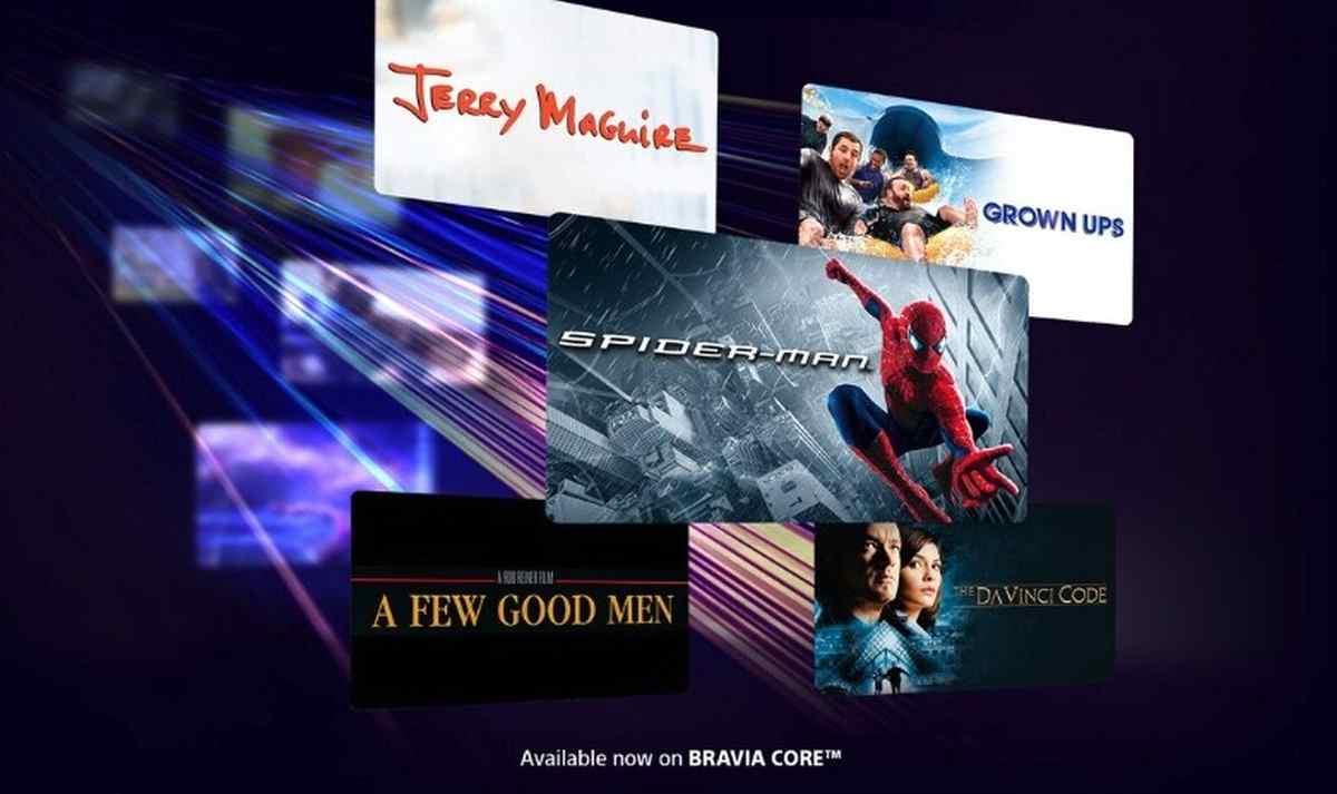 Así es la nueva plataforma de streaming de Sony