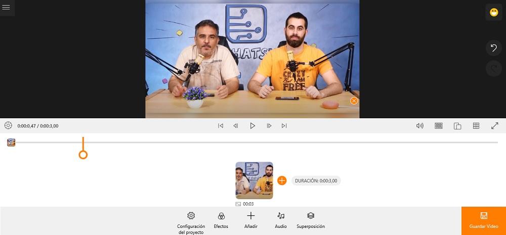Animotica, el editor de vídeos para hacer tareas básicas desde Windows