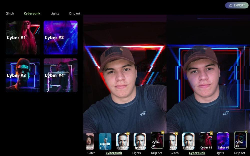 Cómo crear el efecto Cyberpunk 2077 en tus fotos con una app