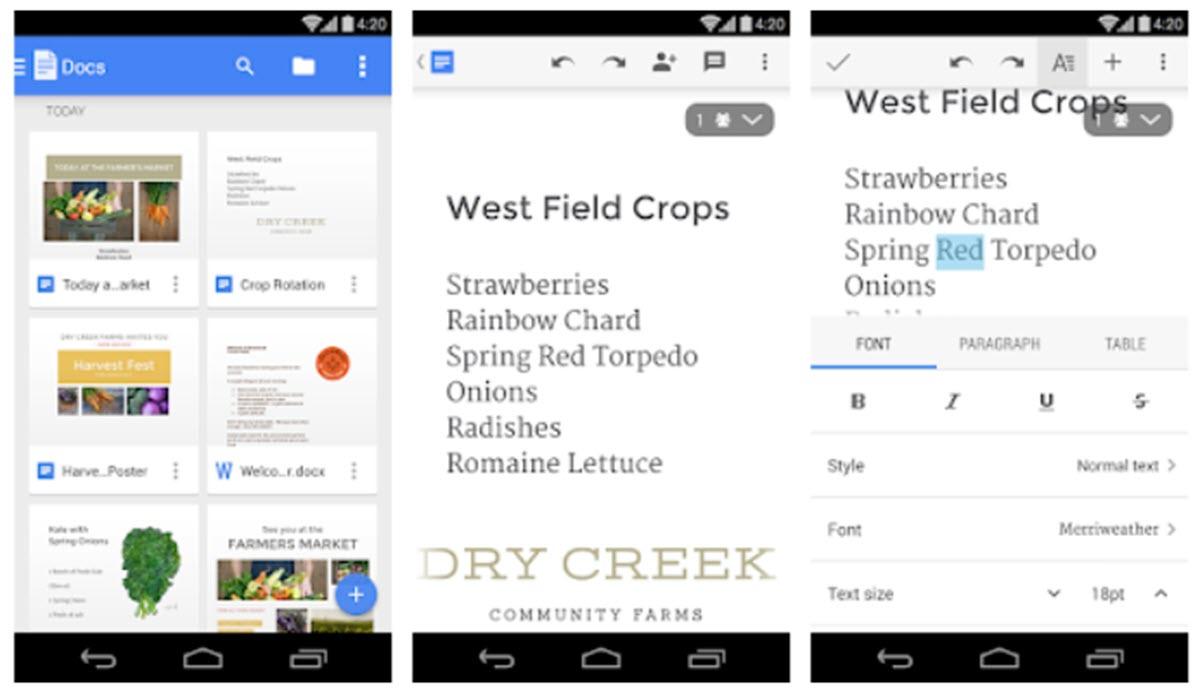 Google Docs tiene nuevas funciones para el trabajo en equipo