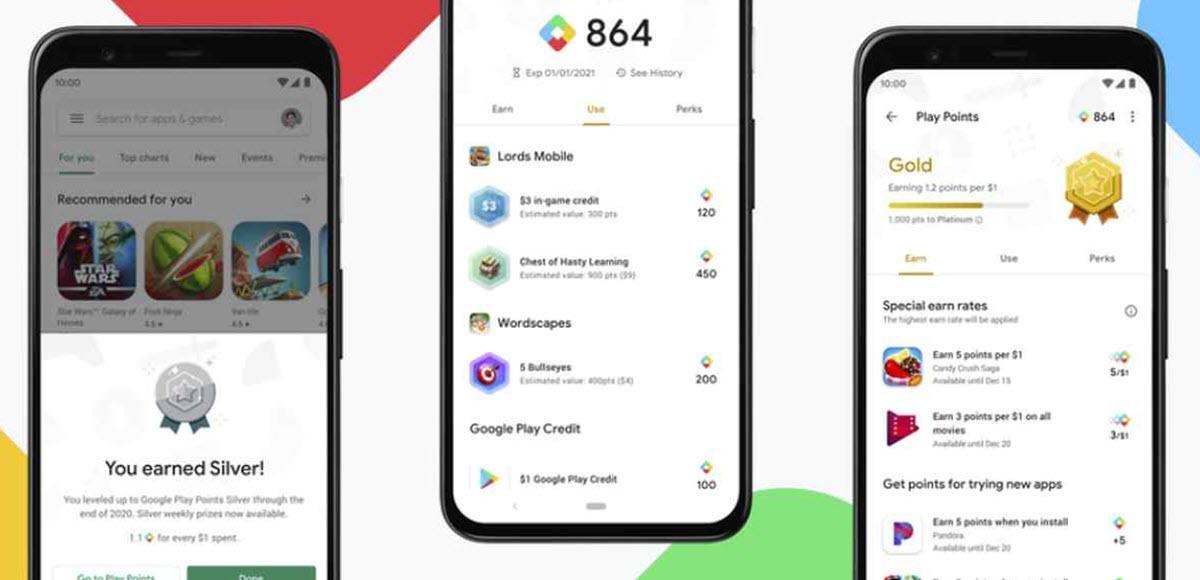 El programa de Google que te recompensa por comprar apps y juegos llega a España