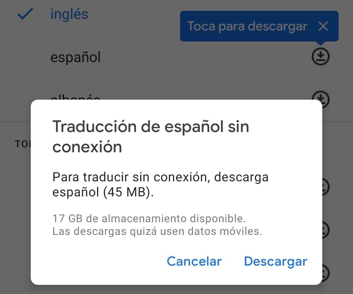 Google Lens para Android ya ofrece traducciones sin conexión a Internet