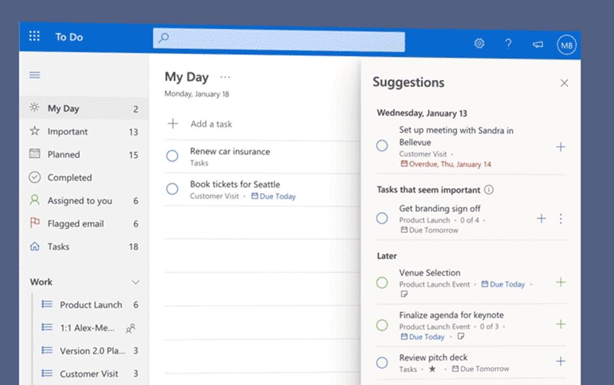 Microsoft usa su IA para ayudarte a organizar tus tareas