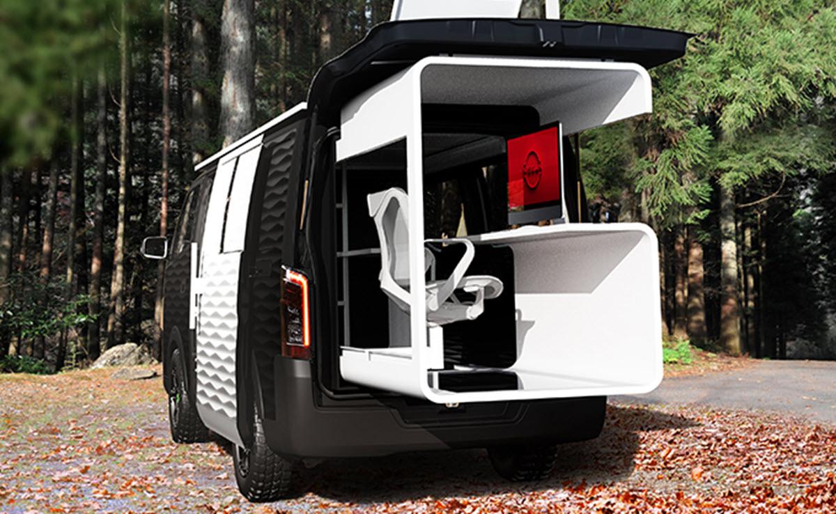 Nissan quiere que lleves tu oficina a cualquier lugar con este nuevo concepto