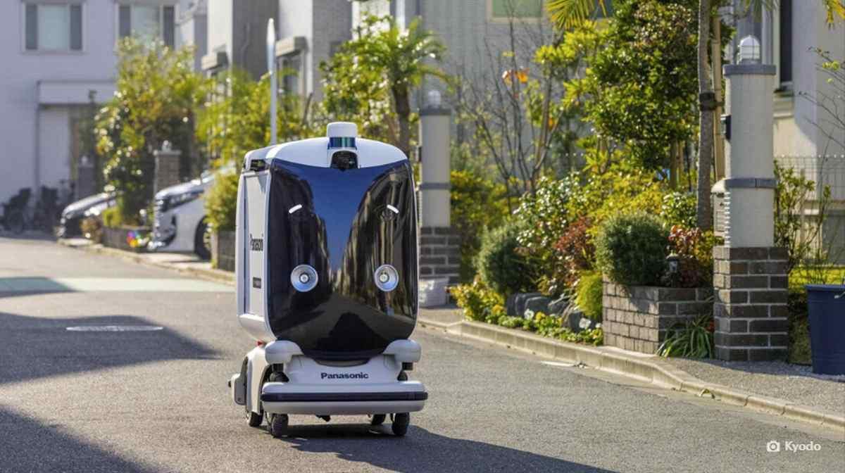 Panasonic prueba un robot autónomo de entrega de pedidos en Japón