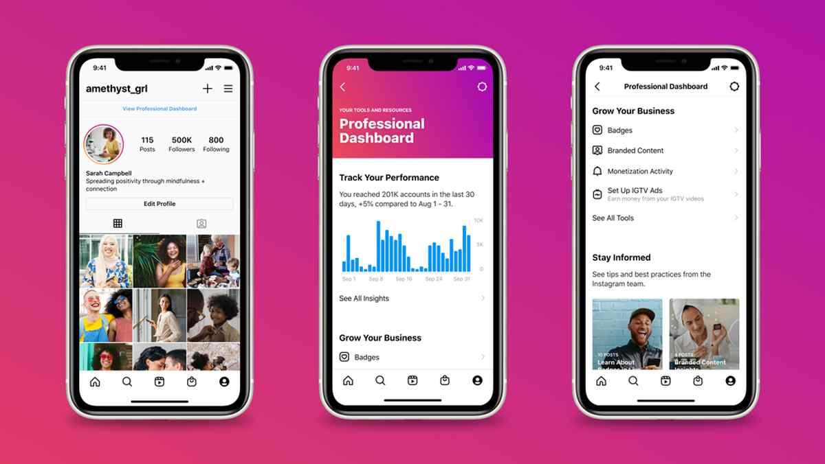 Instagram unifica el acceso a todas sus herramientas comerciales