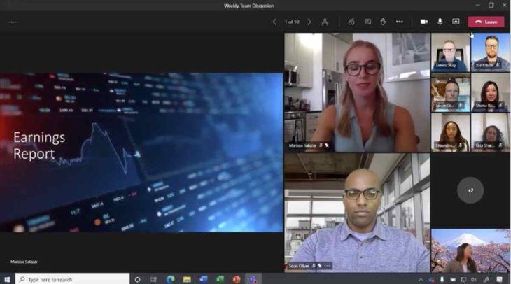 Nueva Vista Dinámica de Microsoft Teams