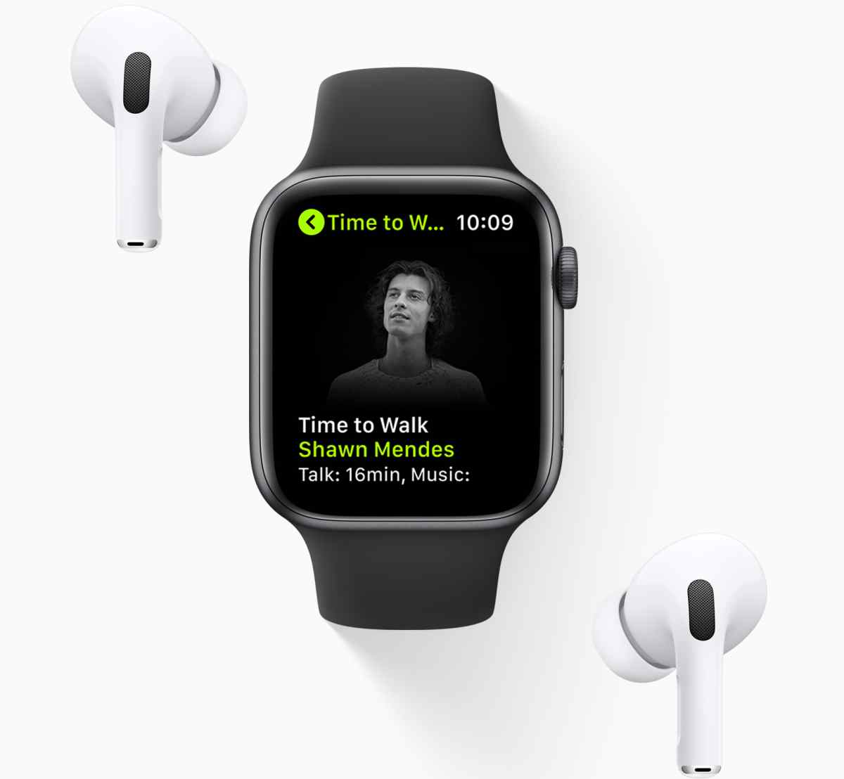 Apple Fitness+ hace más amena las caminatas con historias de celebridades