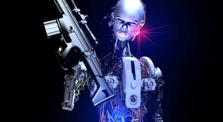 robot del mal