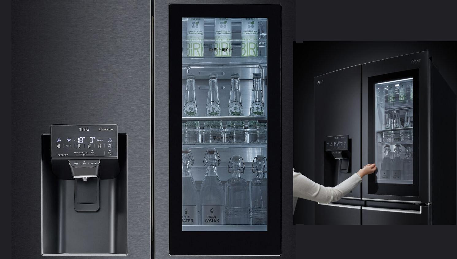 LG presenta frigorífico que se abre con la voz