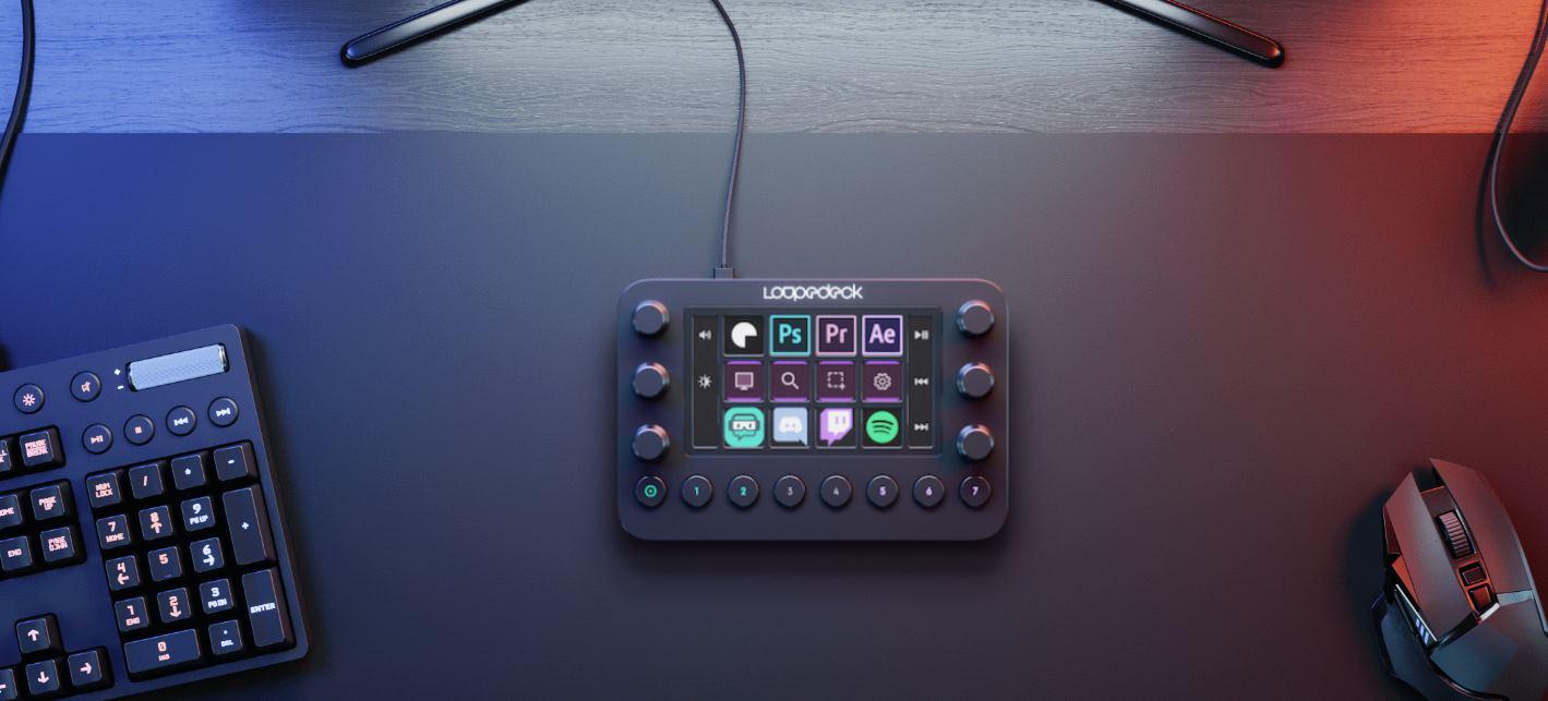 Loupedeck Live, una consola para creadores de contenido