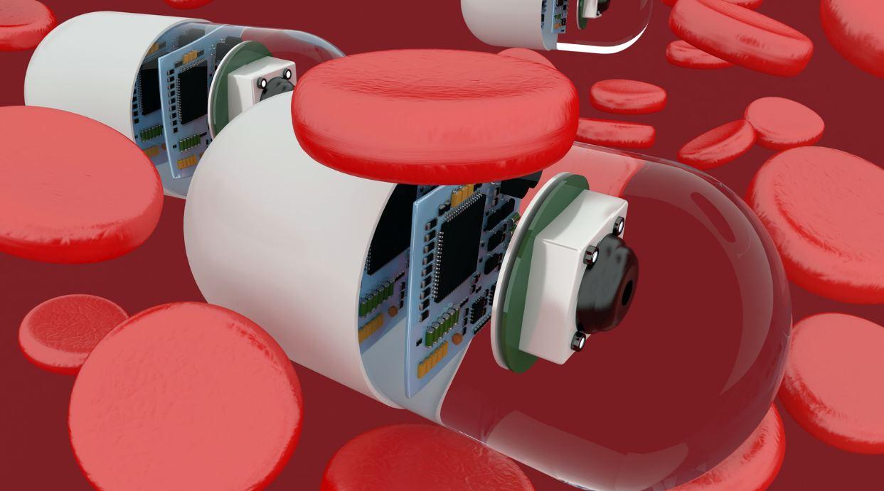 robot sangre