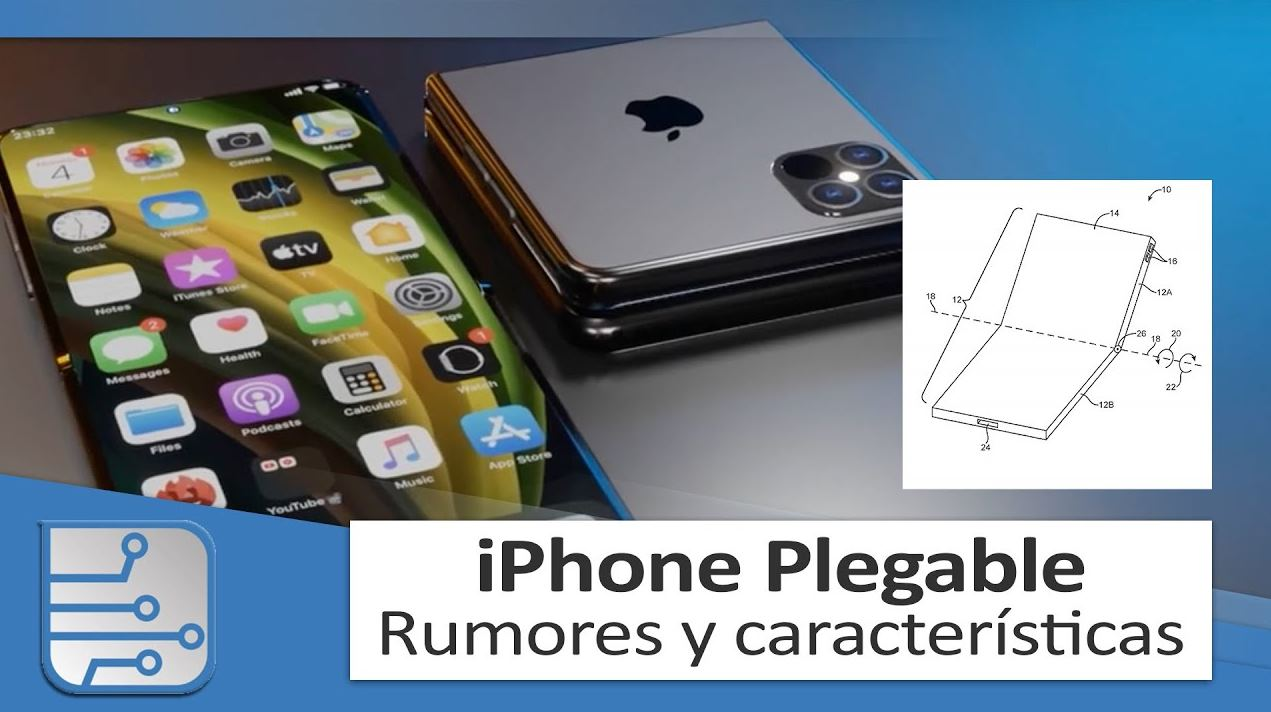 Los rumores del iPhone plegable