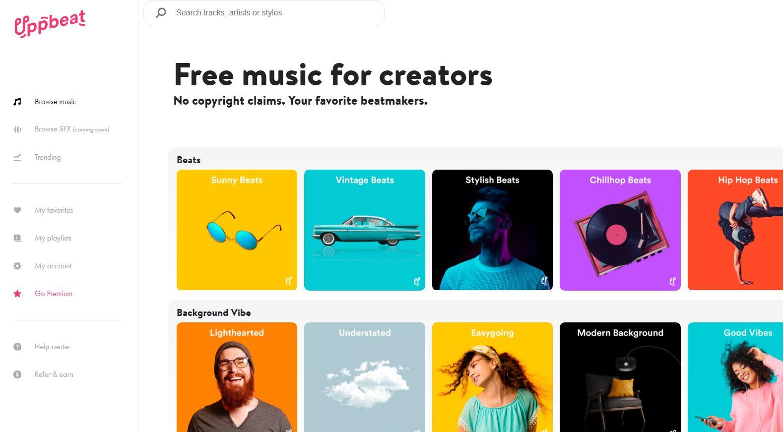 Más música gratis para vídeos de Youtube