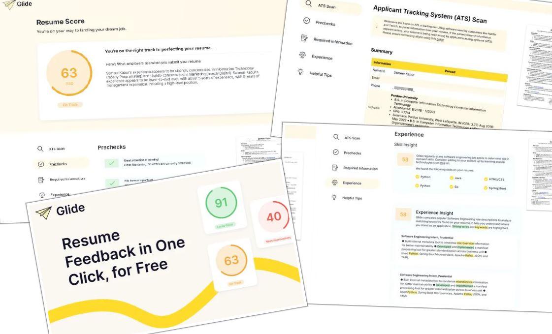 Una app que nos dice si nuestro CV está bien diseñado
