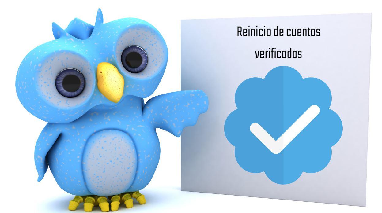 Twitter reinicia su proceso de verificación de cuentas