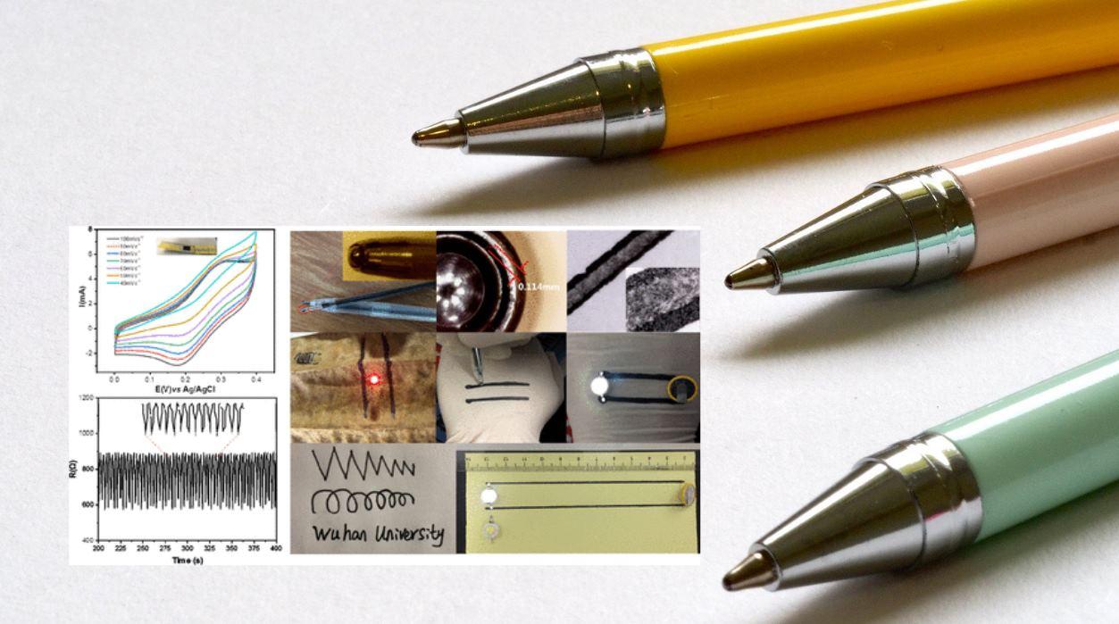 Crean tinta conductora que puede usarse para dibujar circuitos en la piel humana