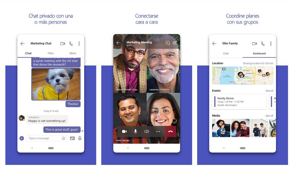 Novedades de Microsoft Teams para Android