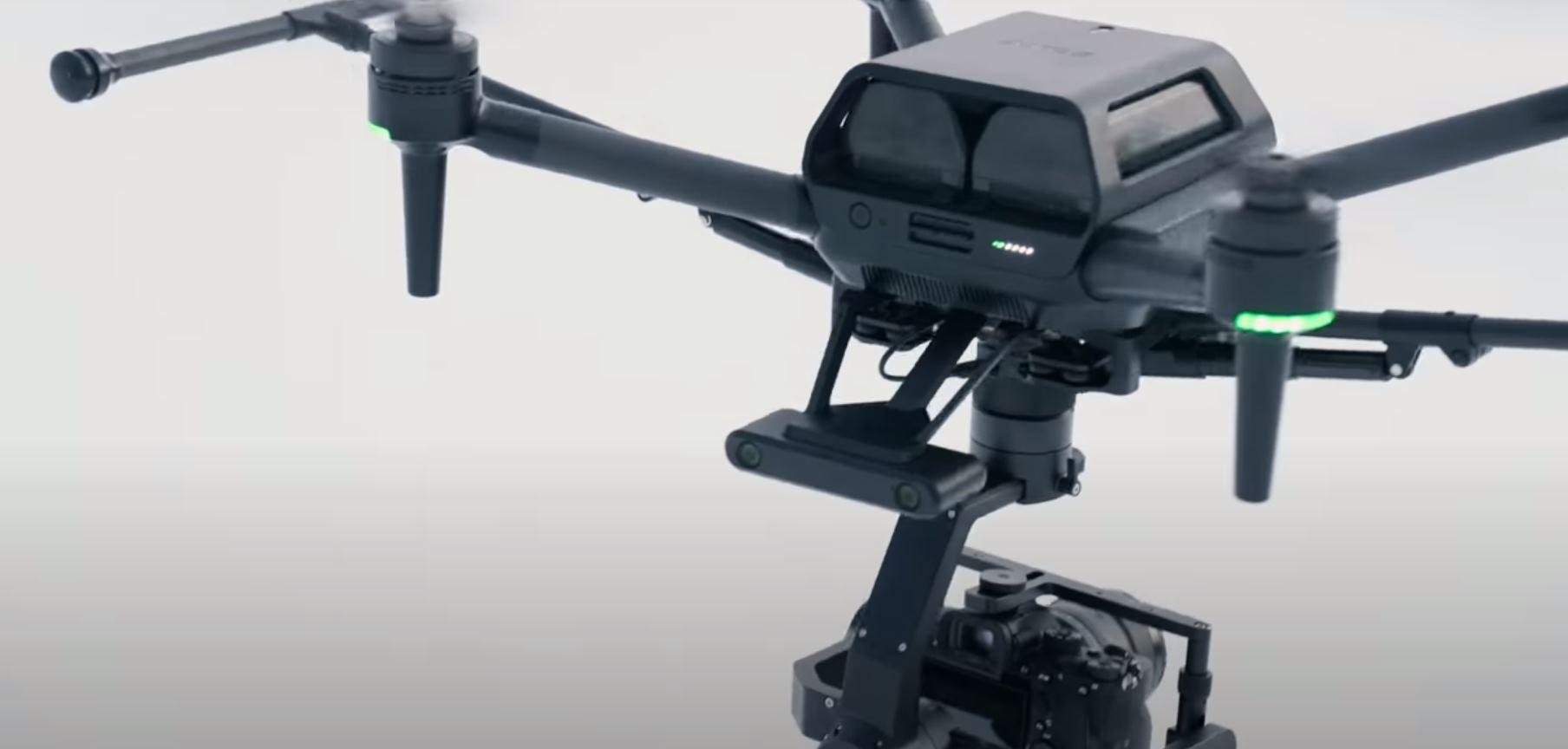 Sony presenta Airpeak, su empresa de drones