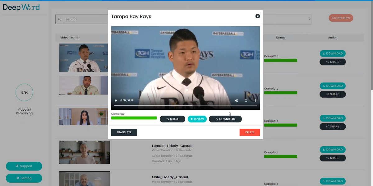 Algunas opciones para crear deepfakes en vídeo