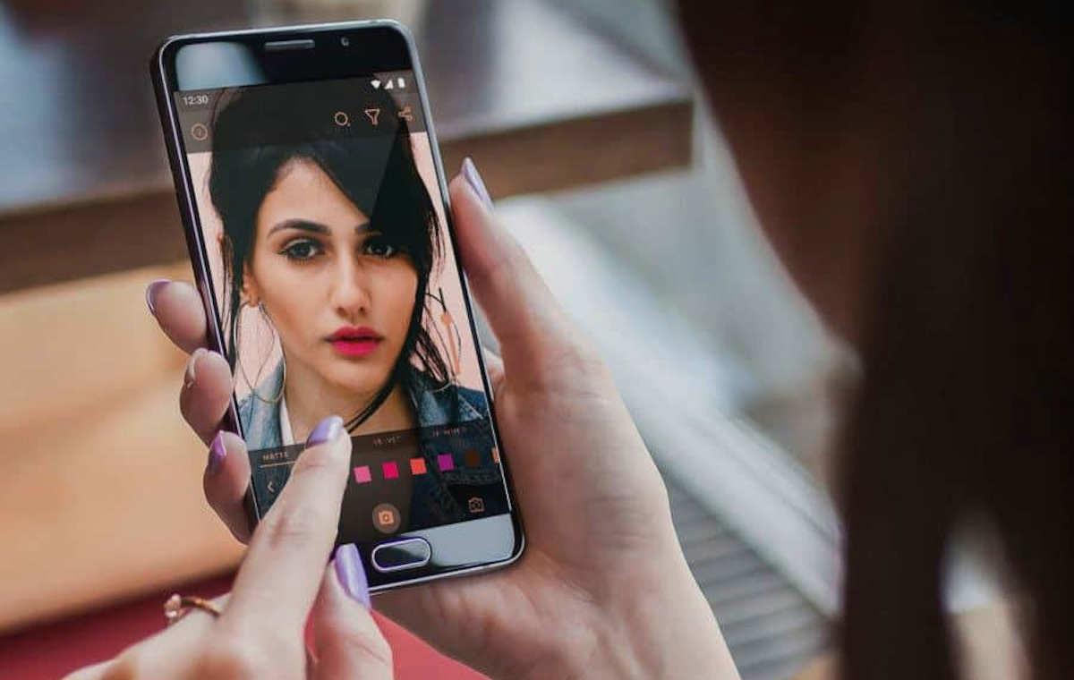 Una herramienta para crear pruebas de maquillaje en realidad aumentada