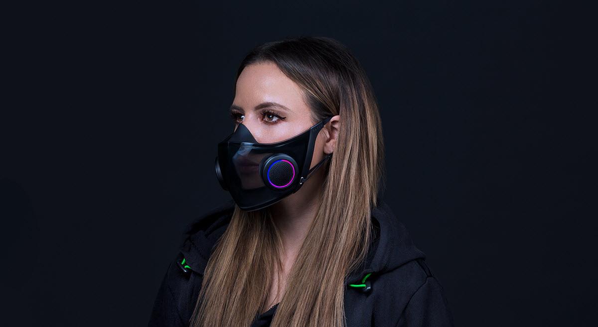 Razer presenta una mascarilla inteligente para protegerse del COVID-19