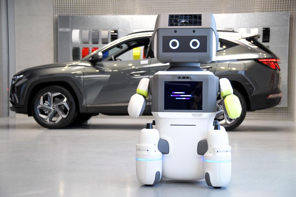 robot de atencion al cliente dal-e