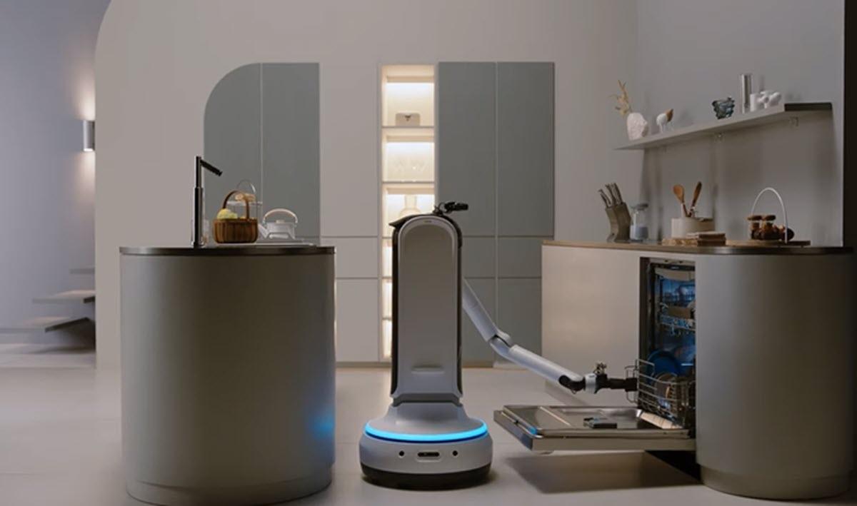 Este robot de Samsung te ayudará con las tareas de la casa