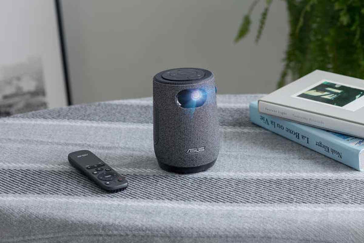 Así es el nuevo proyector compacto de ASUS, con diseño inspirado en una taza de café
