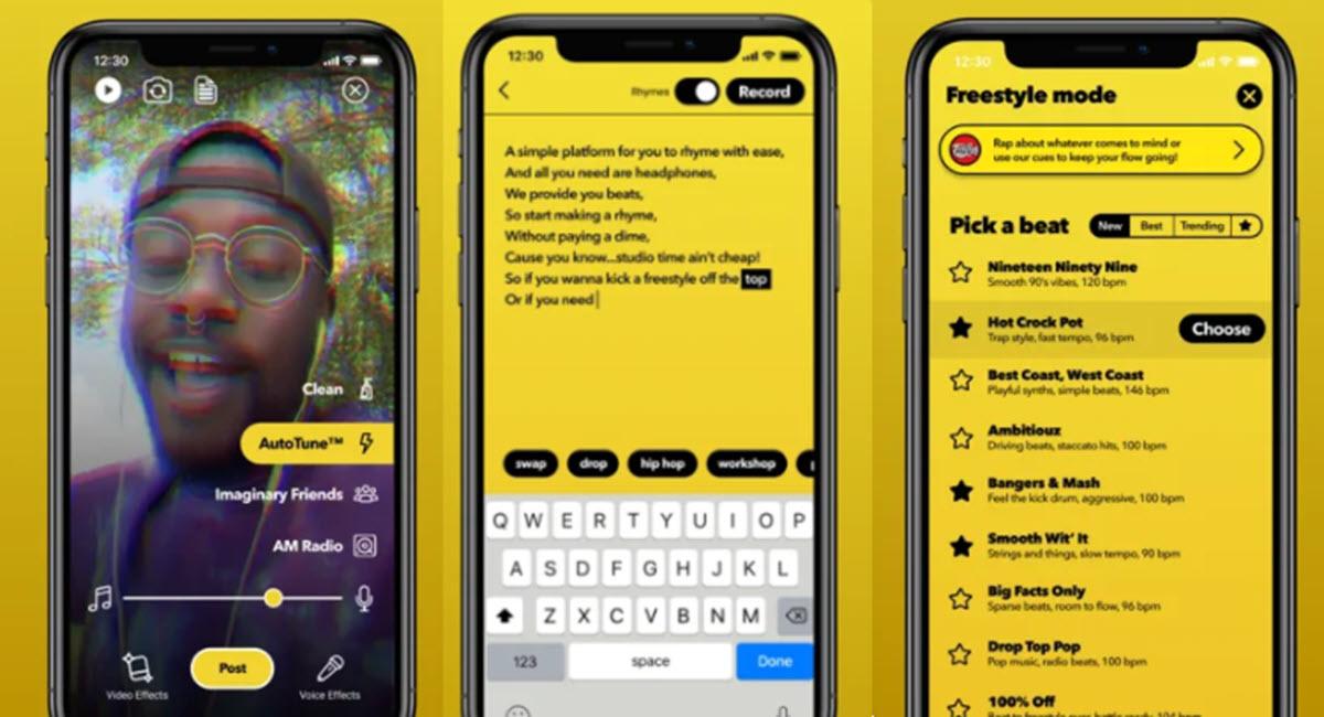 Facebook lanza una app para raperos al estilo TikTok