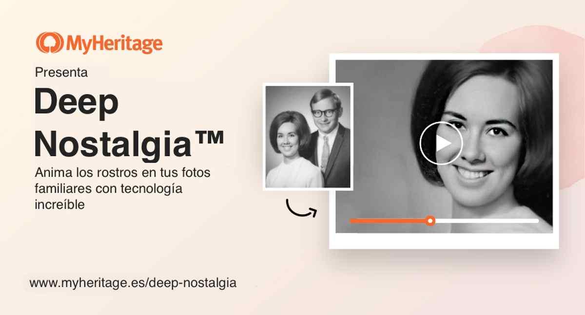 Así es la nueva función de MyHeritage que permite dar vida a fotos antiguas