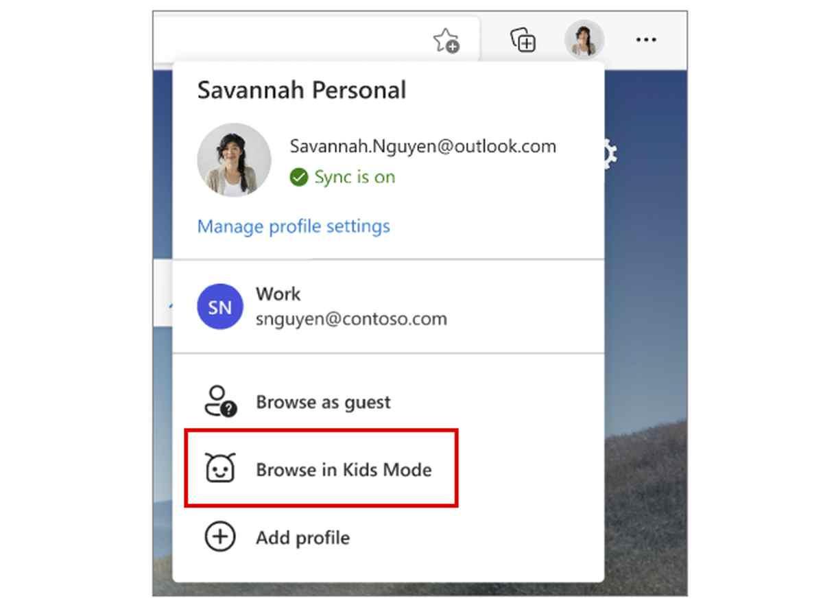 Microsoft Edge permitirá la navegación segura a menores con el Modo Niños