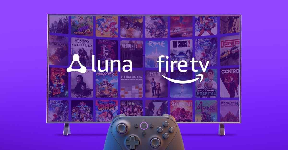Amazon Luna en Fire TV