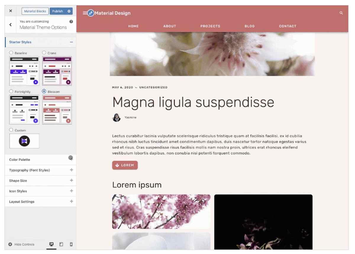 Google experimenta con Material Design en WordPress con su nuevo complemento
