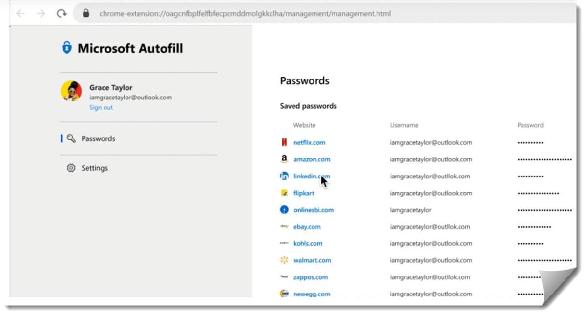 Microsoft tiene un nuevo sistema para administrar las contraseñas en cualquier dispositivo